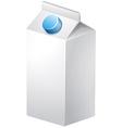 Carton of milk vector image