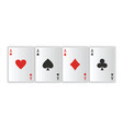 casino gambling poker vector image