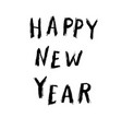 happy new year grunge design vector image
