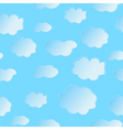 seamless cloud vector image vector image