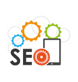searching engine optimization vector image vector image