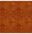 brown abstract diagonal square tile mosaic vector image vector image