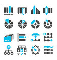 datacategory management icon vector image