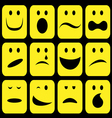 emotions set vector image