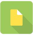 File icon vector image vector image