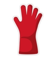Glove icon Gardening design graphic vector image vector image