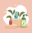 moisturizer cream skincare vector image vector image