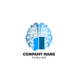 psychology logo template design vector image vector image