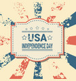 united states flag independence day holiday 4 july vector image vector image