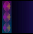 color neon abstract gradient linear on dark vector image vector image