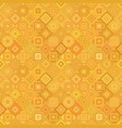 orange geometrical diagonal square mosaic tile vector image vector image
