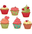 Yummy cupcakes vector | Price: 1 Credit (USD $1)