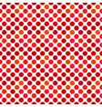 abstract seamless red circle pattern background vector image vector image