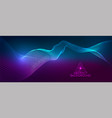 amplitude abstract background vector image vector image