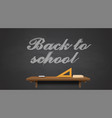 back to school back ill vector image