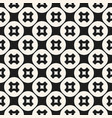 crosses seamless pattern abstract monochrome vector image vector image
