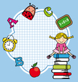 Education and school icon set vector image vector image