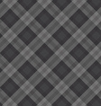 gray fabric pattern vector image vector image