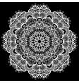 mandala circle decorative spiritual indian symbol vector image vector image