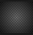 metal grid seamless pattern on transparent vector image