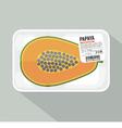 Papaya Pack vector image