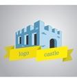 Logo castle vector image