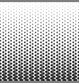 abstract line pattern halftone square background vector image vector image