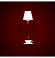 Night coffee vector image vector image