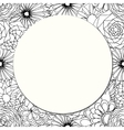 Round paper vector image