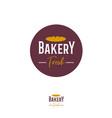 logo bakery vector image