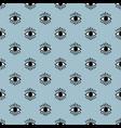 seamless open eye pattern vector image