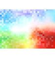 Tiles halftone colorful background vector image vector image