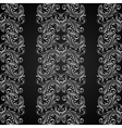Vertical grey seamless pattern vector image vector image