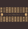 vintage backgrounds luxury seamless patterns vector image vector image