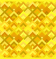 yellow abstract seamless diagonal shape pattern vector image vector image