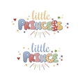 Cute Lettering vector image