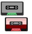 cassette flat vector image
