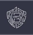 bitcoin logo editable stroke vector image vector image