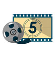 cinema and movies entertainment vector image