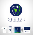Dental Logo Design Dentist Logo vector image vector image