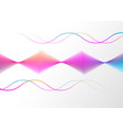 neon color abstract gradient linear background vector image vector image