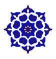 porcelain flower vector image vector image