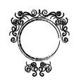 Vintage decorative emblem vector image
