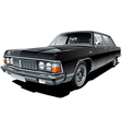 Vintage Soviet limousine vector image vector image