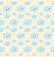 cloud wallpaper for nursery baby bedding nursery vector image