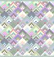 abstract diagonal square tile mosaic pattern vector image vector image