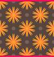 abstract ethnic colored floral geometric seamless vector image vector image
