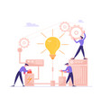 business project startup financial idea vector image
