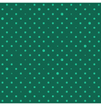 Green Star Polka Dots Background vector image vector image