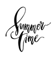 Summer Time card vector image vector image